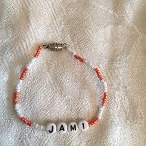 """JAMI 6 1/2"""" personalized name bracelet-NEW"""